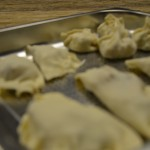 Dumplings to be cooked