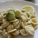 Orecchiette with Brussels Sprout