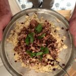 cous cous e pulled pork asian style